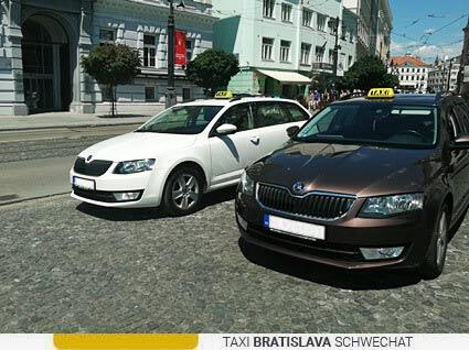 taxi sluzba bratislava schwechat letisko